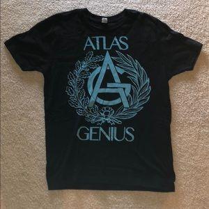 Atlas Genius concert t-shirt